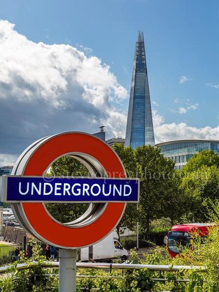 Underground Tube Station Logo