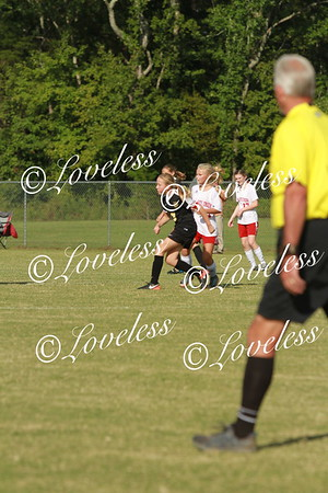 Middle School Girls Soccer vs Stewarts Creek Middle  9-6-17