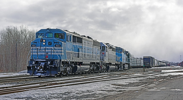 Job 1 through Brookport Qc yesterday   https://steelribbon.smugmug.com/Central-Maine-Quebec-Job-1-Brookport-Quebec-March-16-2019/i-zhBKpx8/A