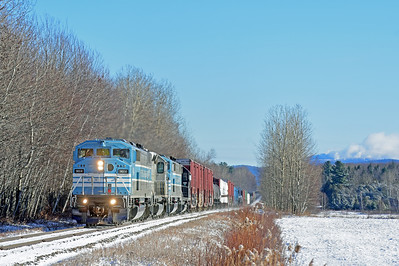 Central Maine & Quebec Job 1, Brigham, Quebec, December 27 2018.