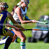 WINTHROP, ME - OCTOBER 6: Winthrop's Maddie Perkins carries the ball during a field hockey game Wednesday October 6, 2021 on Kelsey Ann Stoneton Memorial Field in Winthrop. (Staff photo by Joe Phelan/Staff Photographer)