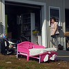 A variety of items line the entrance to the give-and-take shack Wednesday at the China transfer station at 191 Alder Park Road. Rich Abrahamson/Morning Sentinel