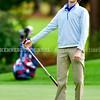 BRUNSWICK, ME - SEPTEMBER 30: Messalonkee's Jude Lilly during KVAC golf championship Thursday September 30, 2021 at Brunswick Golf Club. (Staff photo by Joe Phelan/Staff Photographer)
