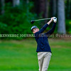 BRUNSWICK, ME - SEPTEMBER 30: Brunswick's Will Farschon hits during KVAC golf championship Thursday September 30, 2021 at Brunswick Golf Club. (Staff photo by Joe Phelan/Staff Photographer)