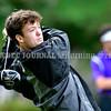 BRUNSWICK, ME - SEPTEMBER 30: Messalonskee's Mitch Grant tees off during KVAC golf championship Thursday September 30, 2021 at Brunswick Golf Club. (Staff photo by Joe Phelan/Staff Photographer)