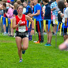 BELFAST, ME - OCTOBER 2: Cony's Sage Fortin runs 20th Maine XC Festival of Champions Saturday October 2, 2021 at roy Howard Middle School in Belfast. (Staff photo by Joe Phelan/Staff Photographer)