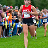 BELFAST, ME - OCTOBER 2: Cony's Grace Kirk finished 20th Maine XC Festival of Champions Saturday October 2, 2021 at roy Howard Middle School in Belfast. (Staff photo by Joe Phelan/Staff Photographer)