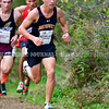 BELFAST, ME - OCTOBER 2: Brunswick's Joey Valliere runs in the 20th Maine XC Festival of Champions Saturday October 2, 2021 at Troy Howard Middle School in Belfast. (Staff photo by Joe Phelan/Staff Photographer)