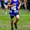 BELFAST, ME - OCTOBER 2: Lewiston's Julien Turmenne runs in the 20th Maine XC Festival of Champions Saturday October 2, 2021 at Troy Howard Middle School in Belfast. (Staff photo by Joe Phelan/Staff Photographer)