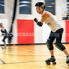 AUGUSTA, ME - JULY 29:  during Kennebec Valley Roller Derby practice Thursday July 29, 2021 in the gym of the Buker Community Center in Augusta. (Staff photo by Joe Phelan/Staff Photographer)