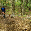MANCHESTER, ME - SEPTEMBER 21: Garry Hinckley rides his fat tired mountain bike Tuesday September 21, 2021 in the recently built mountain bike trail area off Kerns Hill Road in Manchester. (Staff photo by Joe Phelan/Staff Photographer)
