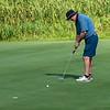 VASSALBORO, ME - AUGUST 24: Doug Self, of Brunswick Country Club, putts on 18th green during Maine Senior Am golf tournament Tuesday August 24, 2021 at Natanis Golf Course in Vassalboro. (Staff photo by Joe Phelan/Staff Photographer)