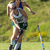 WINTHROP, ME - SEPTEMBER 8: Oak Hill's Brianna Dumais, top, loses stick while trying to stop Madeline Wagner during a field hockey game Wednesday September 8, 2021 on Kelsey Ann Stoneton Memorial Field in Winthrop. (Staff photo by Joe Phelan/Staff Photographer)