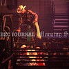 BANGOR, MAINE- JULY 23, 2021<br /> Bull rider, Dalton Krantz, prepares to ride Slammer during PBR Velocity Tour rodeo competition at the Cross Insurance Center on Friday, July 23, 2021. (Staff Photo by Michael G. Seamans/Staff Photographer)
