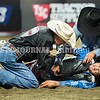 BANGOR, MAINE- JULY 23, 2021<br /> Ben Morales rides Crossfire Chug A Lug during PBR Velocity Tour rodeo competition at the Cross Insurance Center on Friday, July 23, 2021. (Staff Photo by Michael G. Seamans/Staff Photographer)