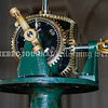 READFIELD, ME - SEPTEMBER 24: When it is reinstalled this gear work on the top of the recently repaired clock will turn the three clock faces as seen Friday September 24, 2021 at the Readfield Union Meeting House in Readfield.  (Staff photo by Joe Phelan/Staff Photographer)