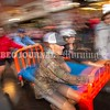 SKOWHEGAN, MAINE- AUGUST 5, 2021<br /> The boys soccer team from Skowhegan High School compete in the annual bed races on Water Street in downtown Skowhegan as part of Main Street River Fest on Thursday, August 5, 2021. (Staff Photo by Michael G. Seamans/Staff Photographer)