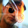 15243# 01fair SKOWHEGAN, MAINE AUGUST 15, 2021. Glass blower Tom Souza uses a torch to create a glass pipe during the Skowhegan State Fair in Skowhegan, Maine Sunday August 15, 2021. Souza is also making jewelry at the fair.souya said heÕs sold about 100 of the pipes at the fair adding that it takes about 10 minutes to make one once the customer selects the materials.(Rich Abrahamson/Morning Sentinel)