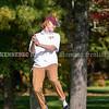 VASSALBORO, ME - OCTOBER 8: <br /> Cape Elizabeth's Sam Luddington reacts to a putt during State Class B golf tournament Friday October 8, 2021 at Natanis Golf Club in Vassalboro. (Staff photo by Joe Phelan/Staff Photographer)