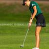 VASSALBORO, ME - OCTOBER 8: Class B champion Jade Haylock putts on18th green during State Class B golf tournament Friday October 8, 2021 at Natanis Golf Club in Vassalboro. (Staff photo by Joe Phelan/Staff Photographer)