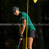 VASSALBORO, ME - OCTOBER 8: Ruby Haycock putts during State Class B golf tournament Friday October 8, 2021 at Natanis Golf Club in Vassalboro. She finished tied for second. (Staff photo by Joe Phelan/Staff Photographer)