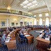 AUGUSTA, ME - SEPTEMBER 29: The Senate is in session for a special legislative session Wednesday September 29, 2021 at the Maine State House in Augusta. (Staff photo by Joe Phelan/Staff Photographer)