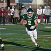 Central Mass. Division 5 championship was held at Foley Stadium, Worcester between (1) Oakmont Regional High School vs. (3) Northbridge High School on Saturday, Nov. 16, 2019. ORHS's #2 Colton Bosselait.  SENTINEL & ENTERPRISE/JOHN LOVE