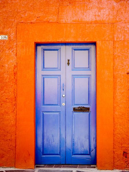 Blue door #108