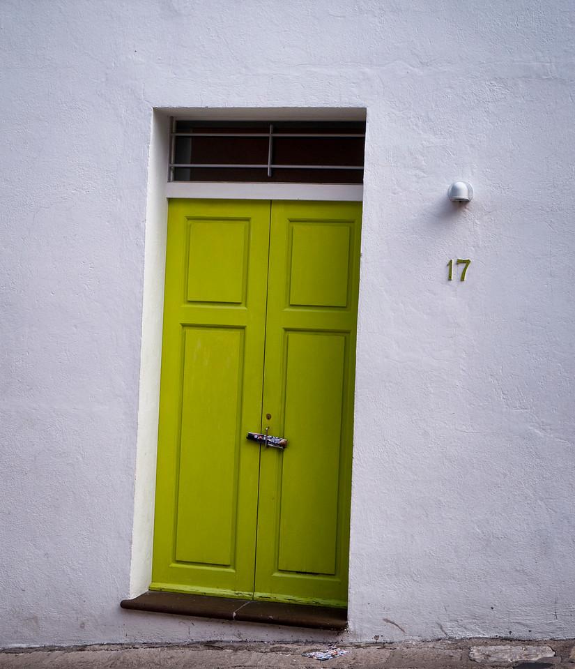 #17 Green Door