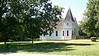 The restored 106 year old chapel next to the historic Confederate Cemetery north of Higginsville, Missouri.  Sept. 9, 2008