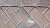 Brick from the Coffeyville Brick and Tile Co., Coffeyville, KS., used for the walkway around the KATY (M K & T) Railroad Depot in Sedalia, MO.