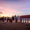 Sunset, Veterans Memorial