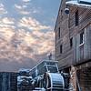 Yates Mill. Winter Sunset