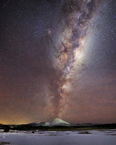Mount Doom Milky Way