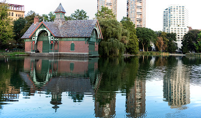 Harlem Meer Boathouse