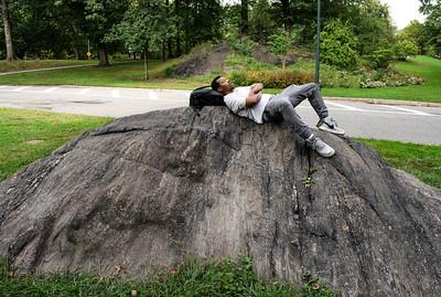 Boulder Under Shoulder