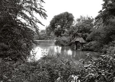 Pavilion and Lake