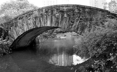 Gapstow Bridge _ bw