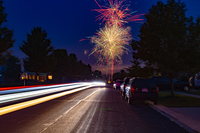 Streaks and Fireworks