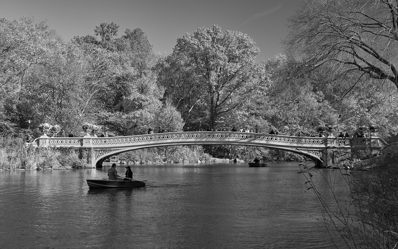 Autumn morning- Bow bridge