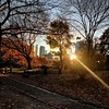 Days are getting shorter - Fall in Central Park
