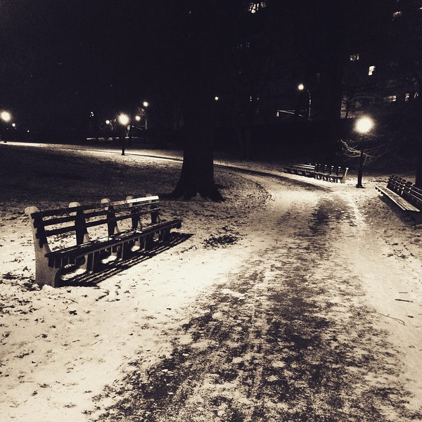 Winter walk home - brrr