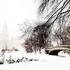 Winter Bow Bridge with the El Dorado Peeking Through