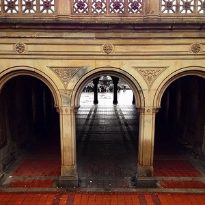 Looking Through - Bethesda Terrace