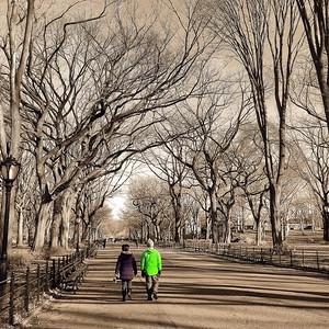 Couple - Literary Walk