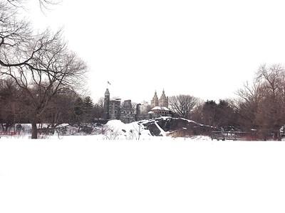 Central Park Winter Wonderland - Belvedere Castle