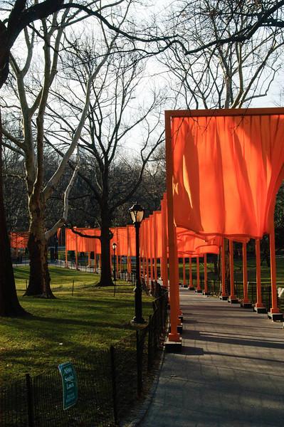 Gates Exibition. Central Park, New York