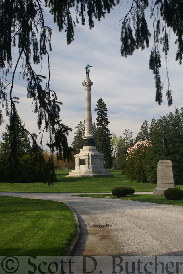 New York Monument, National Cemetery