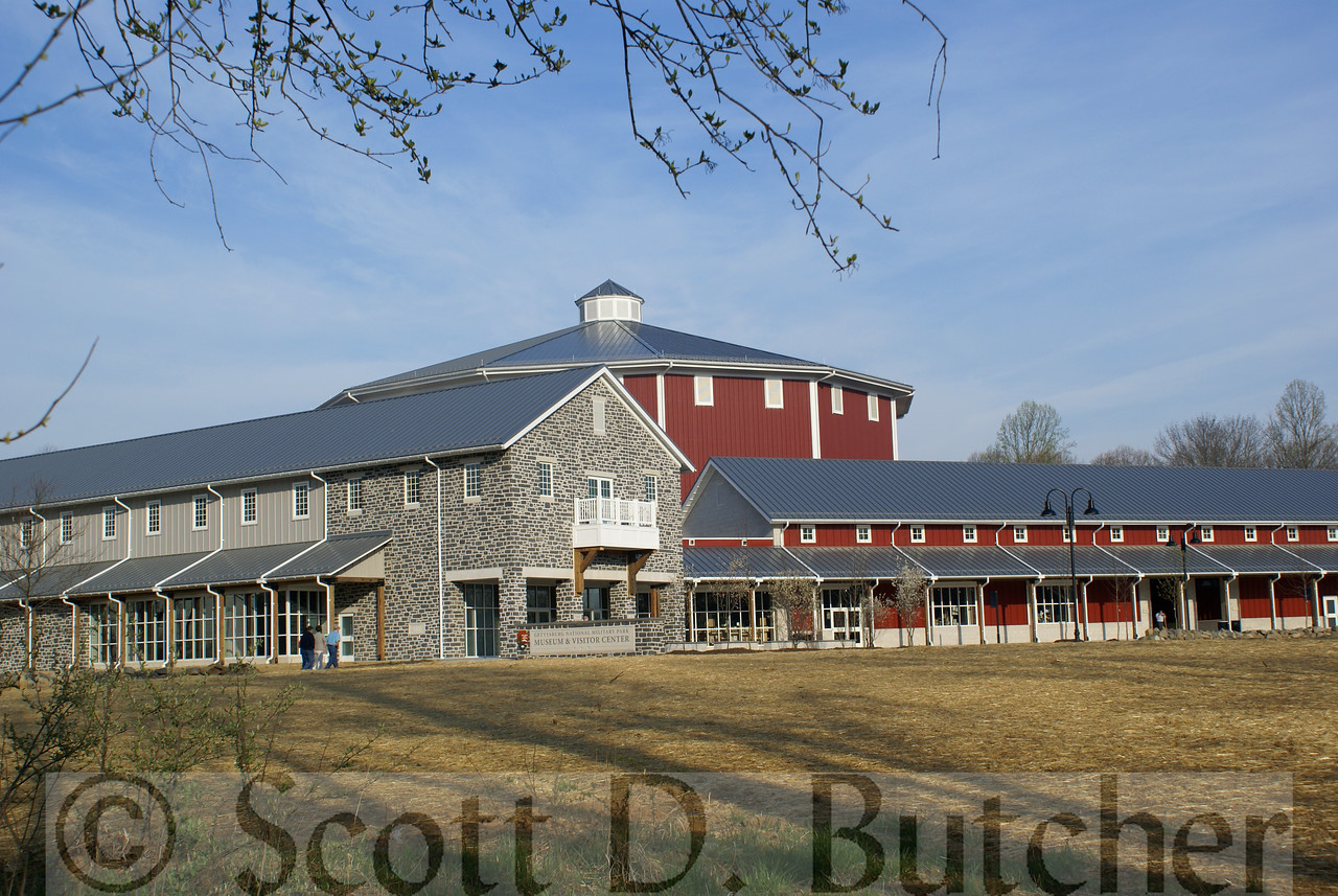 New Gettysburg Visitors Center and Museum