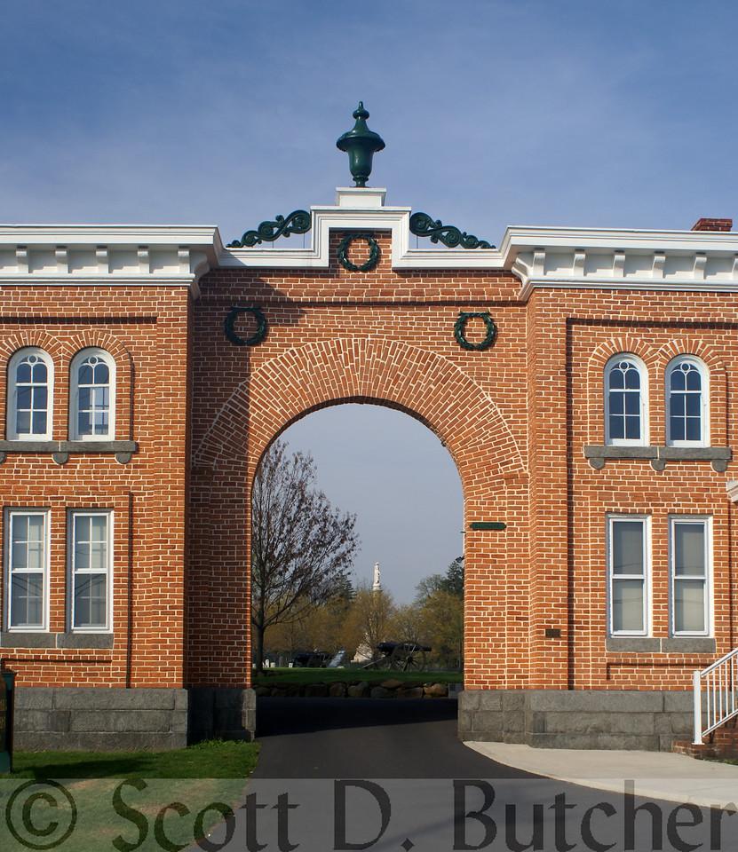Evergreen Cemetery Gatehouse